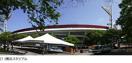 (1)横浜スタジアム